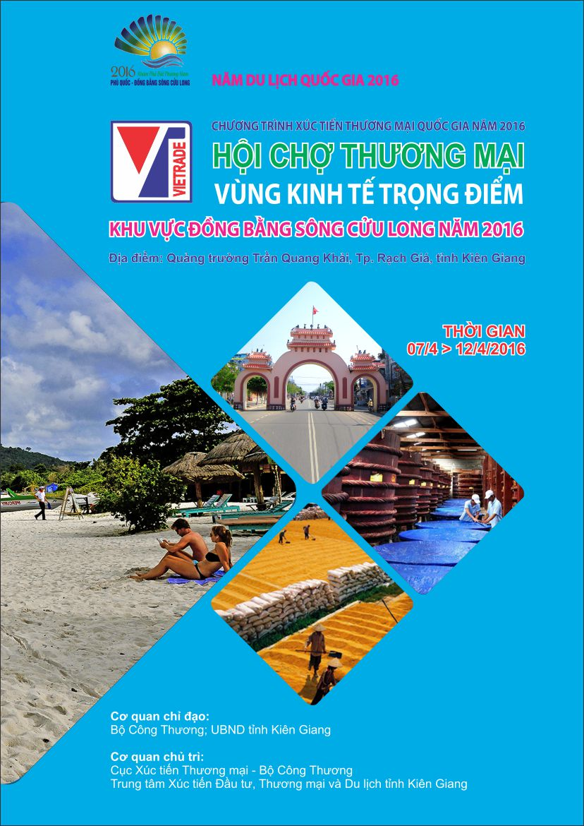 TRADE FAIR OF ECONOMIC REGIONAL AREA IN MEKONG DELTA 2016