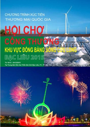 INDUSTRY AND TRADE  FAIR IN MEKONG DELTA – BAC LIEU 2015