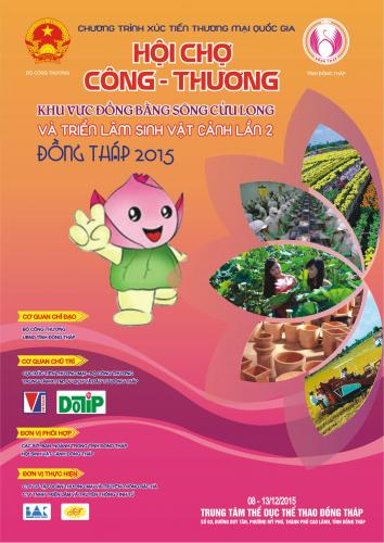 INDUSTRY AND TRADE  FAIR IN MEKONG DELTA – DONG THAP 2015