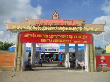TRADE - TOURIST PROMOTION EXHIBITION FAIR WITH OK-OM-BOK FESTIVAL OF TRA VINH PROVINCE - 2012
