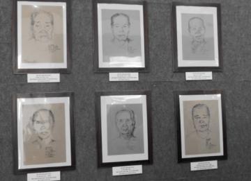 Vĩnh Long triển lãm 101 ký họa chân dung Mẹ Việt Nam anh hùng