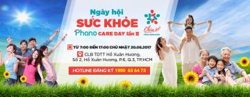 Ngày hội chăm sóc sức khỏe gia đình 2017 - Phano Care Day lần 2