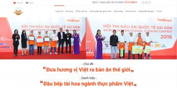 Kế hoạch tổ chức hội thi nấu ăn Quốc tế Sài Gòn 2017