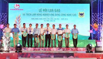Lễ hội Lúa gạo và Triển lãm nông nghiệp ứng dụng công nghệ cao vùng đồng bằng sông Cửu Long