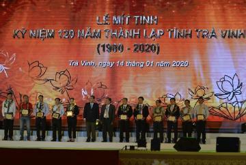Lễ mít tinh và chương trình nghệ thuật kỷ niệm 120 năm thành lập tỉnh Trà Vinh