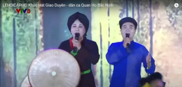 Khúc Hát Giao Duyên - dân ca Quan Họ Bắc Ninh |LEHOICAPHE