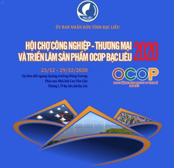 Hội chợ Công nghiệp - Thương mại và Triển lãm sản phẩm OCOP Bạc Liêu năm 2020