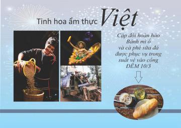 Tinh hoa ẩm thưc Việt