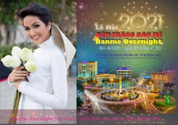 Hoa hậu HHen Niê - đại sứ truyền thông của Lễ hội Đêm trắng Ban Mê
